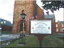 NS3525 : Parish Church, Prestwick by Anthony O'Neil