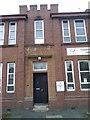 NS7651 : Former 6th Battalion Scottish Rifles building by Elliott Simpson