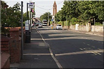 NS3525 : Ayr Road/Main Street, Prestwick by Anthony O'Neil