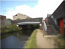 SO9298 : Lower Walsall Street Bridge by Gordon Griffiths