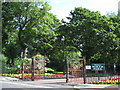 NZ4059 : Entrance to Roker Park, Roker Park Road, SR6 by Mike Quinn