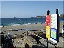 SW3526 : The beach at Sennen Cove by Rod Allday