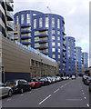 TQ3185 : QN7 housing development, Queensland Road by Jim Osley