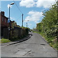 ST8644 : One way traffic along Princecroft Lane, Warminster by Jaggery