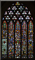 ST5545 : Stained glass window, n.III, Wells Cathedral by Julian P Guffogg