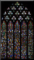 ST5545 : Stained glass window, s.III, Wells Cathedral by Julian P Guffogg