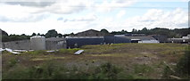 N2431 : Rear of factory on Ballycumber Road by Ian Paterson