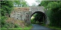 SO1872 : Crug Bridge by Peter Evans