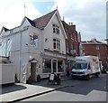 SJ4912 : Jolly Good Van Hire van in Shrewsbury by Jaggery