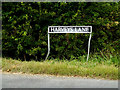 TM3195 : Harveys Lane sign by Adrian Cable