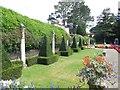 SZ0589 : Topiary in Italian Gardens, Compton Acres by Paul Gillett