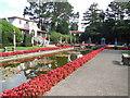 SZ0589 : Italian Gardens, Compton Acres by Paul Gillett
