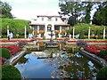 SZ0589 : Italian Garden & Villa, Compton Acres by Paul Gillett