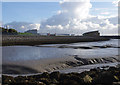 SD4264 : Morecambe mud at low tide by Ian Taylor
