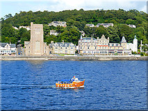 NM8530 : St Columba's Cathedral & Alexandra Hotel by John Lucas