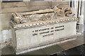 ST5545 : Tomb of Bishop Ralph of Shrewsbury by J.Hannan-Briggs