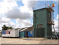 TM4488 : Former RAF shower block by Evelyn Simak