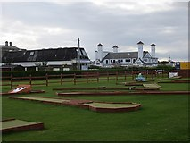 NS3321 : Crazy golf, Ayr Esplanade by Richard Webb