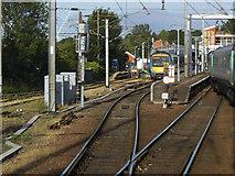 TM1543 : Entering Ipswich station by Stephen Craven