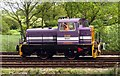 "SP5720 : Shunting loco ""Storeman"" on the Bicester Military Railway by Steve Daniels"