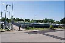 TM0932 : Car Park, Manningtree Station by N Chadwick
