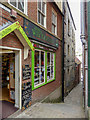 NZ8911 : Alleyway, Whitby by Christine Matthews