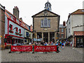 NZ8911 : Market Square, Whitby by Christine Matthews
