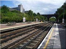 TQ2081 : North Acton station by Marathon