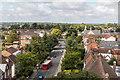 TQ2496 : Wood Street from St John the Baptist Church, Barnet by Christine Matthews