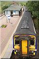 NN4257 : Train at Rannoch Station by Mike Pennington