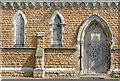 SK5542 : Basford Cemetery, the old chapel by Alan Murray-Rust