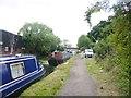 TQ0483 : Uxbridge Moor, canal moorings by Mike Faherty