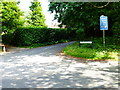 SU7141 : Junction of Upper Anstey Lane and Old Odiham Road by Shazz