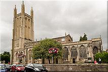 ST5445 : St Cuthbert's church, Wells by Julian P Guffogg
