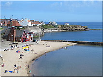 NZ3671 : Cullercoats Bay by Mike Quinn
