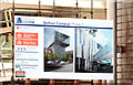 "J3374 : Architects' impression, Block ""B"", University of Ulster site, Belfast by Albert Bridge"