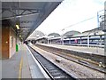 TQ2681 : Paddington Station, Platform 13 by Mike Faherty