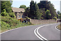 ST7570 : Bend on A46 near Bathview Park by J.Hannan-Briggs