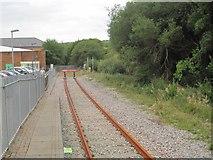 SS8591 : Maesteg Castle Street railway station (site), Bridgend by Nigel Thompson