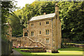 SJ1876 : St.Winefride's Well Gatehouse by Richard Croft