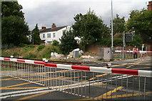 TA2609 : Level crossing on Littlefield Lane, Grimsby by Chris