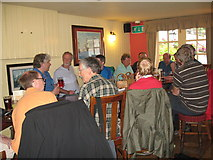 SU4208 : Eve of AGM 2014 Geographers in Hythe 6-Hants by Martin Richard Phelan