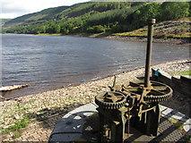 SO0514 : Pentwyn reservoir, lower than usual by Gareth James