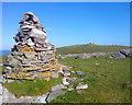 NC3971 : Summit Cairn, Cnoc nan Sgliat by Mick Garratt
