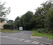ST3091 : NE end of Blackett Avenue, Malpas, Newport by Jaggery