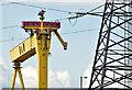 "J3575 : ""Samson"", Belfast (August 2014) by Albert Bridge"