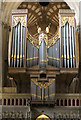 ST5545 : The Organ, Wells Cathedral by J.Hannan-Briggs
