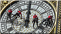 "TQ3079 : Cleaning the Clock face ""Big Ben"", Elizabeth Tower, Palace of Westminster by Christine Matthews"
