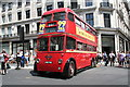 TQ2980 : A trolleybus on Regent Street by Dr Neil Clifton
