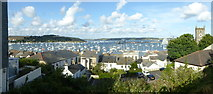 SW8132 : Falmouth Harbour panorama by Rod Allday